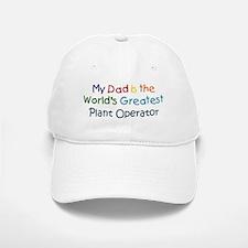 Greatest Plant Operator Baseball Baseball Cap