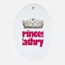 Princess Kathryn Oval Ornament