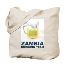 Zambia Drinking Team Tote Bag