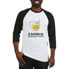 Zambia Drinking Team Baseball Jersey