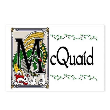 McQuaid Celtic Dragon Postcards (Package of 8)