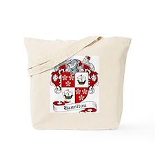Hamilton Family Crest Tote Bag