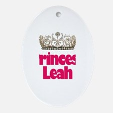 Princess Leah Oval Ornament