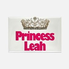Princess Leah Rectangle Magnet