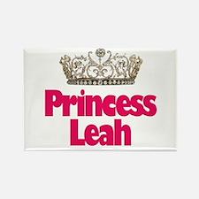 Princess Leah Rectangle Magnet