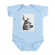 Deer Family Infant Creeper