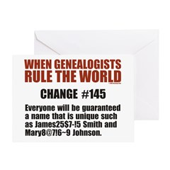 Genealogists Rule Birthday Card