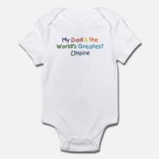 Greatest Umpire Infant Bodysuit