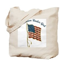 One Nation Under God Tote Bag