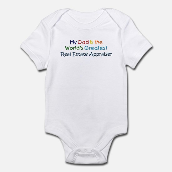Greatest Real Estate Appraise Infant Bodysuit