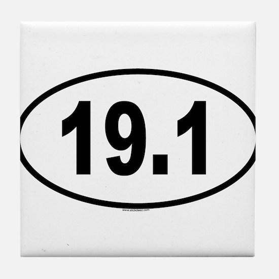 19.1 Tile Coaster