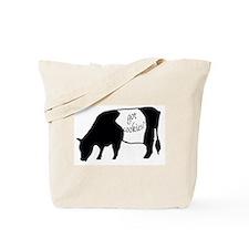 oreo cookie cow Tote Bag