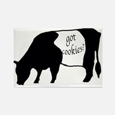 oreo cookie cow Rectangle Magnet (10 pack)
