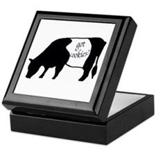 oreo cookie cow Keepsake Box