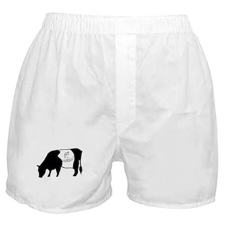oreo cookie cow Boxer Shorts