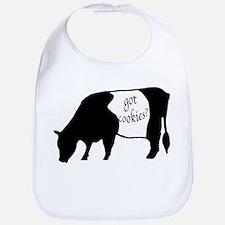 oreo cookie cow Bib
