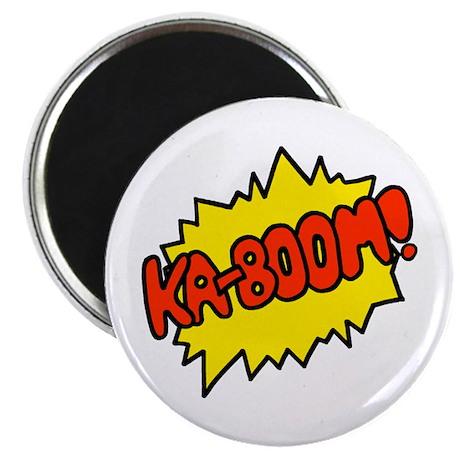 "'Ka-Boom! 2.25"" Magnet (10 pack)"