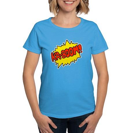 'Ka-Boom! Women's Dark T-Shirt