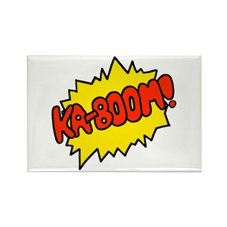 'Ka-Boom! Rectangle Magnet