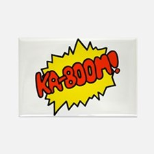 'Ka-Boom! Rectangle Magnet (10 pack)
