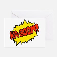 'Ka-Boom! Greeting Card