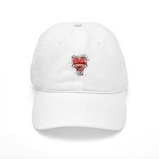 Heart Montenegro Baseball Cap
