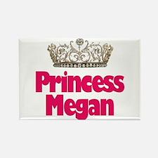 Princess Megan Rectangle Magnet