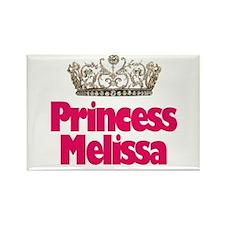 Princess Melissa Rectangle Magnet