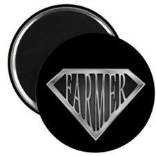 "SuperFarmer(metal) 2.25"" Magnet (100 pack)"