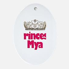 Princess Mya Oval Ornament