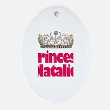 Princess Natalie Oval Ornament