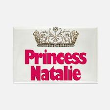 Princess Natalie Rectangle Magnet
