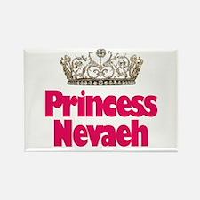 Princess Nevaeh Rectangle Magnet
