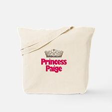 Princess Paige Tote Bag