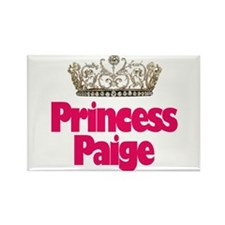 Princess Paige Rectangle Magnet