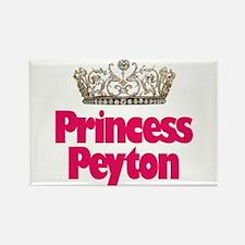 Princess Peyton Rectangle Magnet