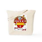 Harvey Family Crest Tote Bag