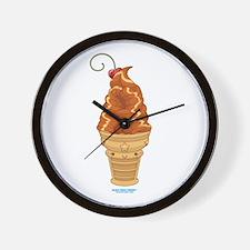 Kawaii Dulce Ice Cream Wall Clock