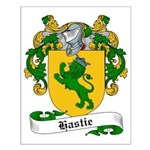 Hastie Family Crest Small Poster