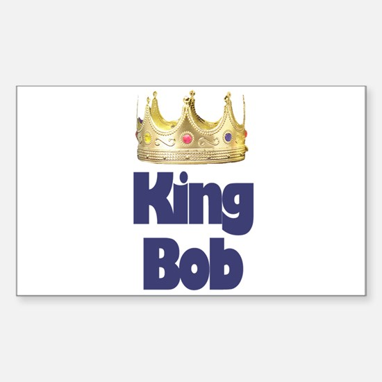 King Bob Rectangle Decal
