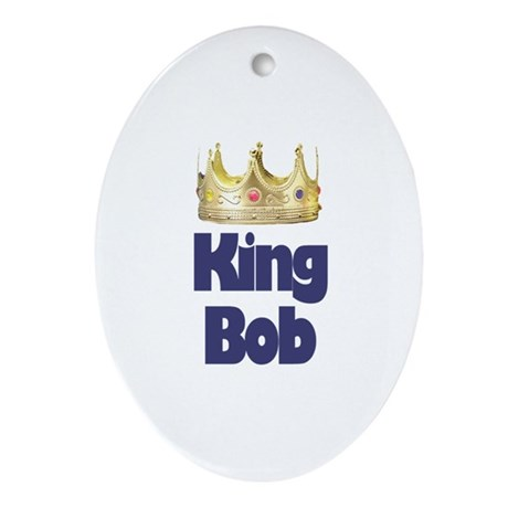 King Bob Oval Ornament