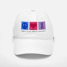 Peace Love Cure CF Baseball Baseball Cap