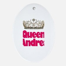 Queen Andrea Oval Ornament
