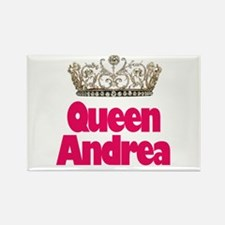 Queen Andrea Rectangle Magnet