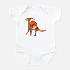 Parasaurolophus Jurassic Dinosaur Infant Bodysuit