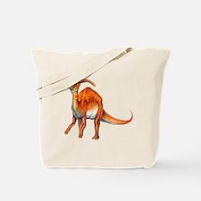 Parasaurolophus Jurassic Dinosaur Tote Bag