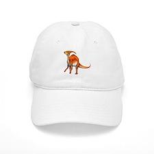 Parasaurolophus Jurassic Dinosaur Baseball Cap