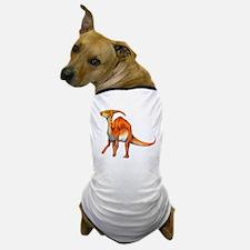 Parasaurolophus Jurassic Dinosaur Dog T-Shirt