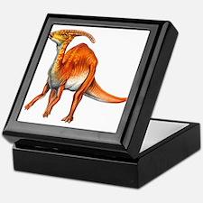 Parasaurolophus Jurassic Dinosaur Keepsake Box