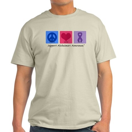 Peace Love Cure AD Light T-Shirt